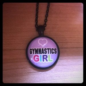 Gymnastics Girl Necklace